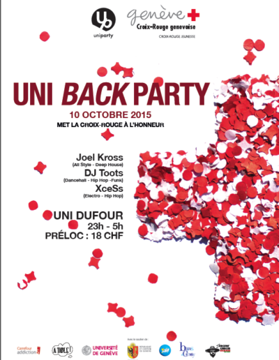 UniBackParty 2015