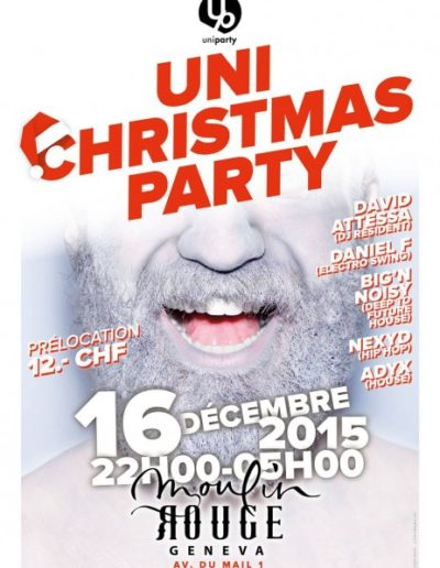 UniChristmasParty 2015