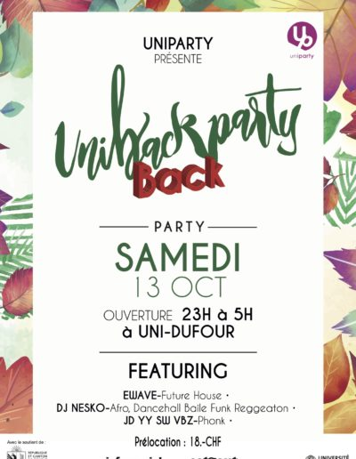 UniBackParty 2018